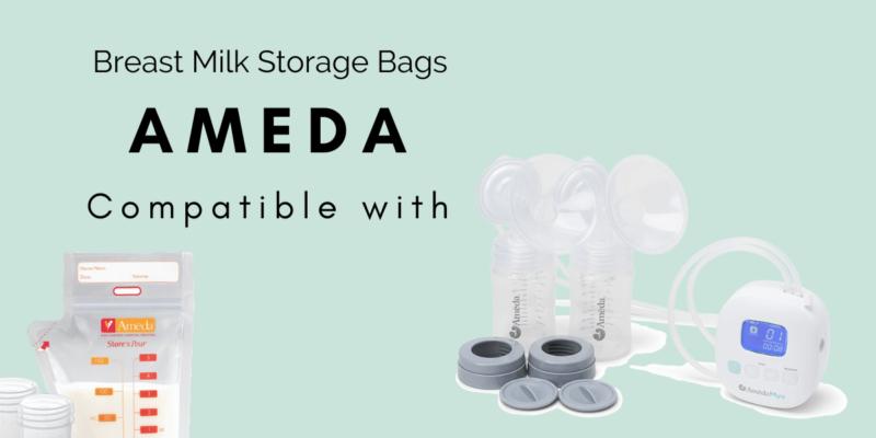 Breast Milk Storage Bags for Ameda Pumps